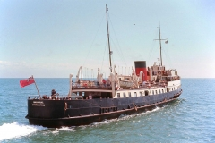 August 14th 1966 - Balmoral leaving Sandown. Photographed provided by Tom Lee.