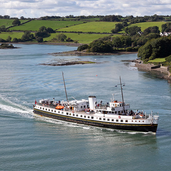 Balmoral in the Menai Strait