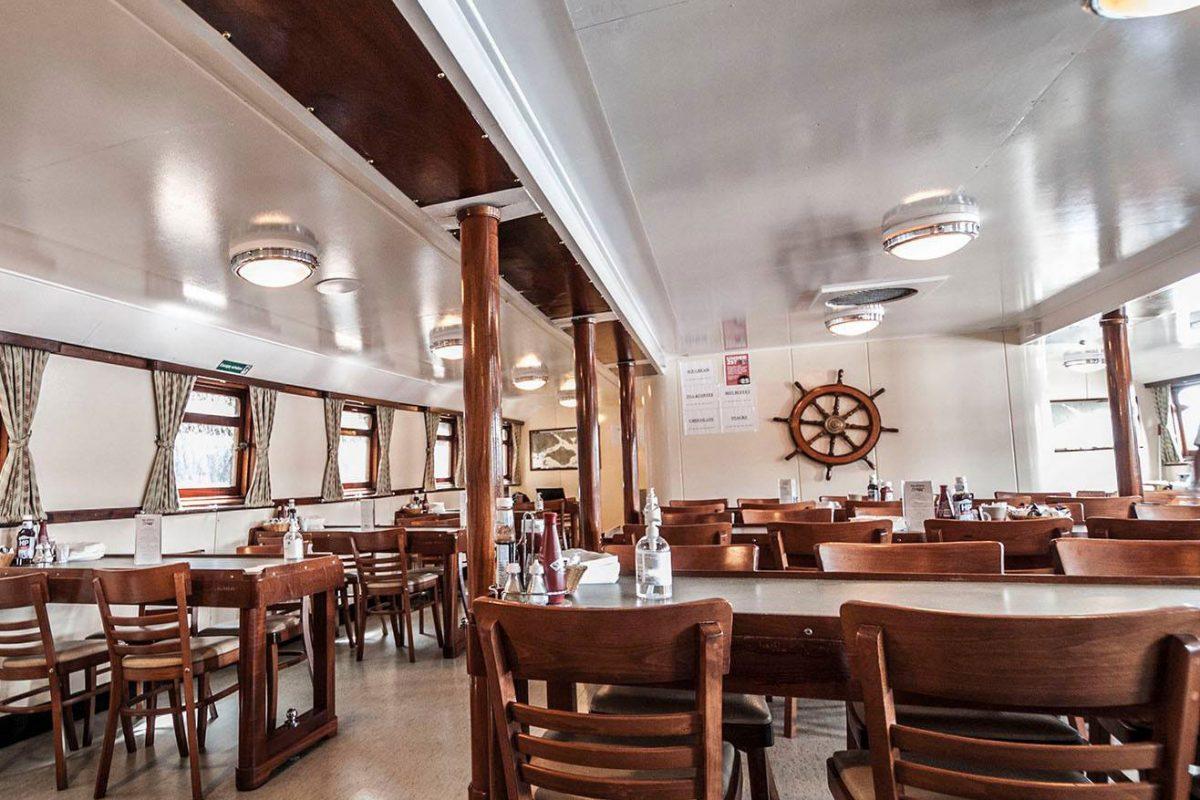 MV Balmoral 1949 Restaurant