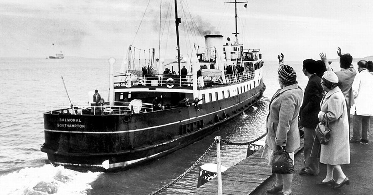 MV Balmoral 1949
