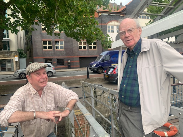 A Meeting of Minds: Vice Presidents of the Paddle Steamer Preservation Society aboard Balmoral