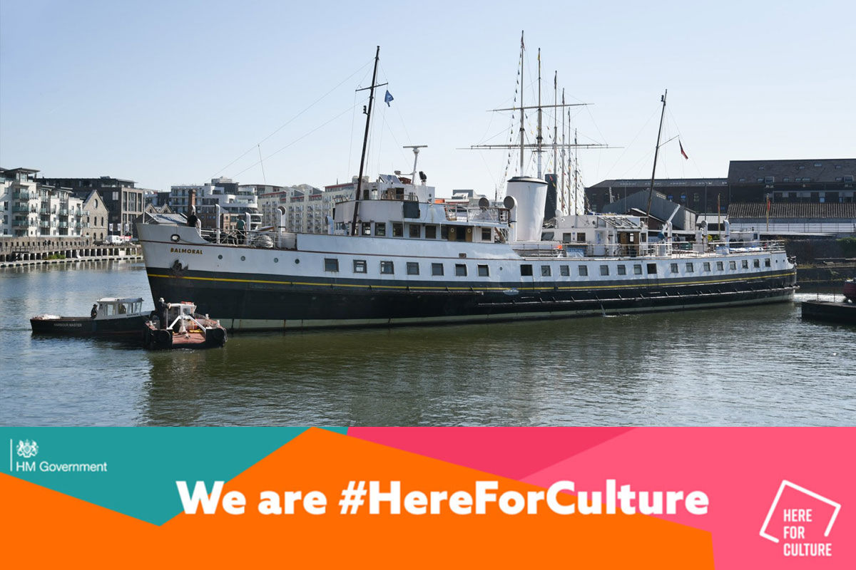 Culture Recovery Fund - MV Balmoral